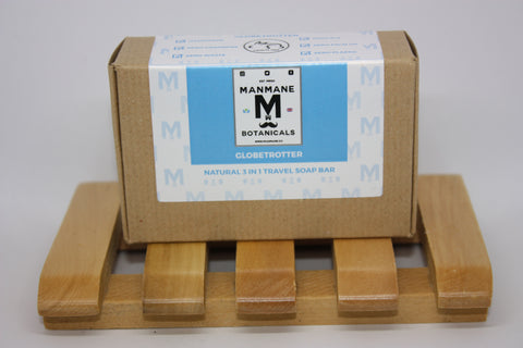 Manmane Globetrotter Ethical & 100% Natural 3 in 1 Soap