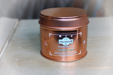 "Manmane  "" Double Vice "" Aromatic Candle 250ml Cruelty free & Vegan"