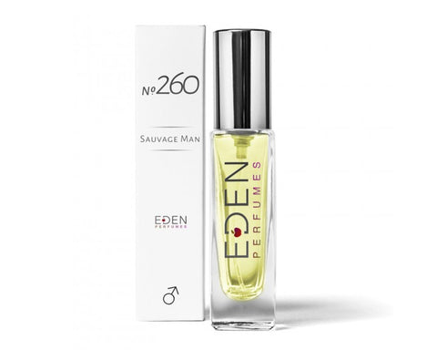 Eden Perfumes No. 260 Male Vegan and Ethical Fragrance