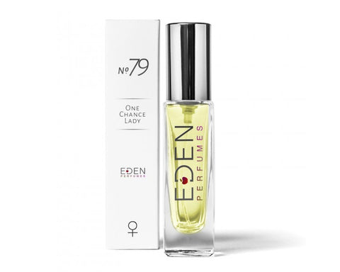 Eden Perfumes No.79 Women's Vegan and Ethical Fragrance