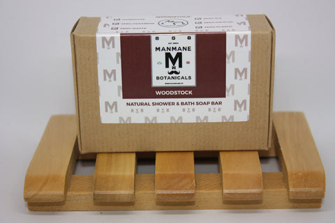 Manmane Woodstock Ethical & 100% Natural Shower & Bath soap bar