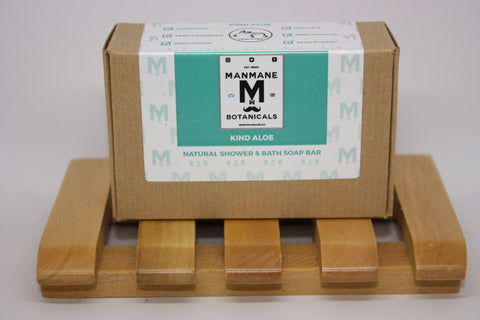 Manmane Kind Aloe Ethical & 100% Natural Shower & Bath soap bar