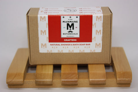 Manmane Grafters Ethical & 100% Natural Shower & Bath soap bar