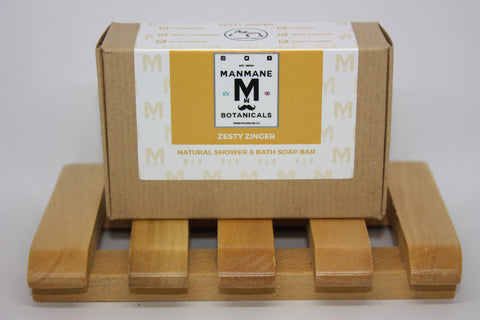 Manmane Zesty zinger Ethical & 100% Natural Shower & Bath soap bar