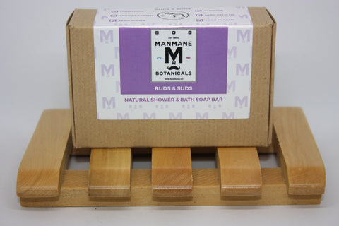 Manmane Buds & Suds Ethical & 100% Natural Shower & Bath soap bar