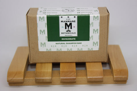 Manmane Invigorate Ethical & 100% Natural Shampoo bar