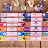 Satya incense sticks Vegan and Fair trade 15 scents available