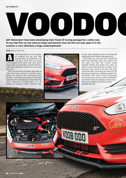 Performance Ford Magazine Feature