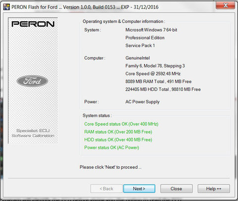 PERON Flash Tuning Guide – AET Motorsport