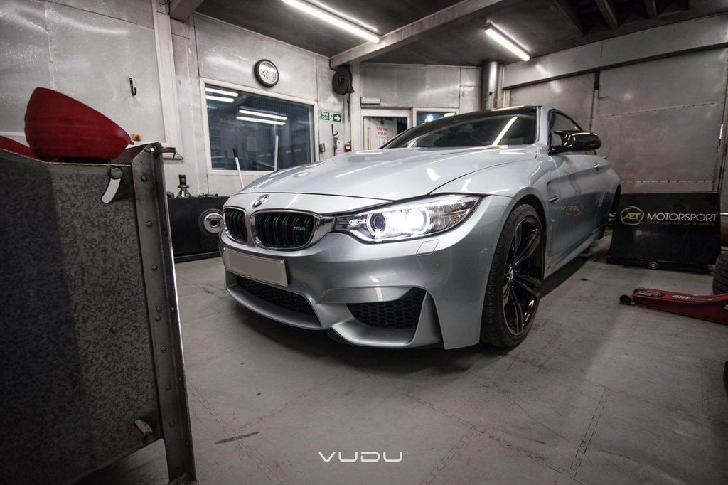BMW M4 with Stage 1 + Tuning Package installed