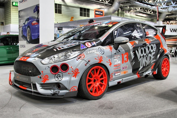 AET Motorsport Fiesta at Autosport International