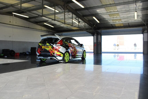 Fiesta ST Silverstone Showroom