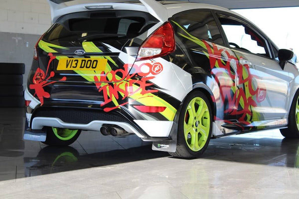 Ford Fiesta ST at Silverstone