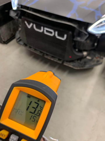 VUDU Stage 3 Intercooler Temperature test