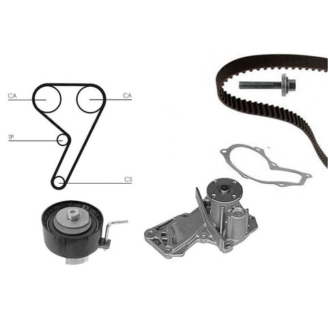 Ford-Fiesta-ST180-Water-Pump-and-Timing-Belt-Kit-Ford-OEM-Part