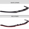 Maxton Design Front Splitter with Stripe