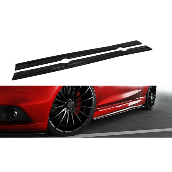 Ford Fiesta 1.0 EcoBoost Maxton Design Side Skirts
