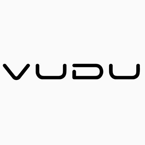 VUDU Small window decal - 5""