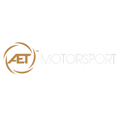AET Motorsport | Gold and White sticker