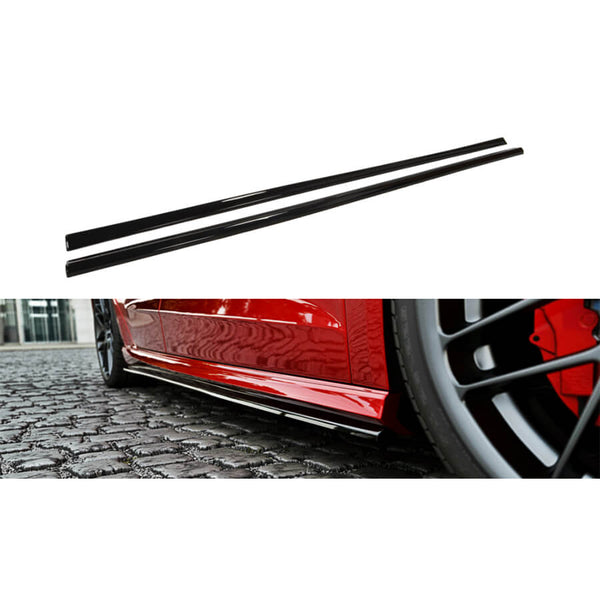 Maxton Design Side Skirt Diffusers for the Audi S3 8V Sportback