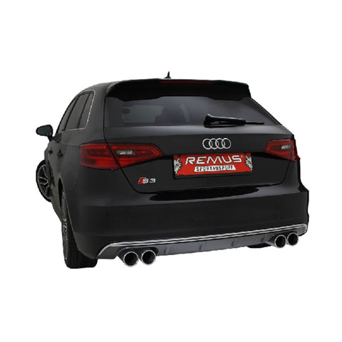 Audi S3 Remus Exhausts Cat Back System