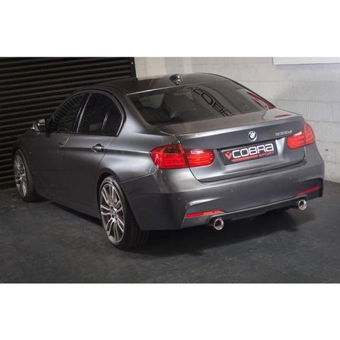 Cobra Sport Dual Exit Rear Exhaust - BMW F32 435D