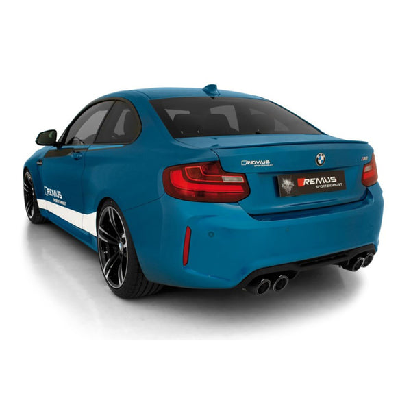 BMW M2 Remus Exhausts Cat Back System