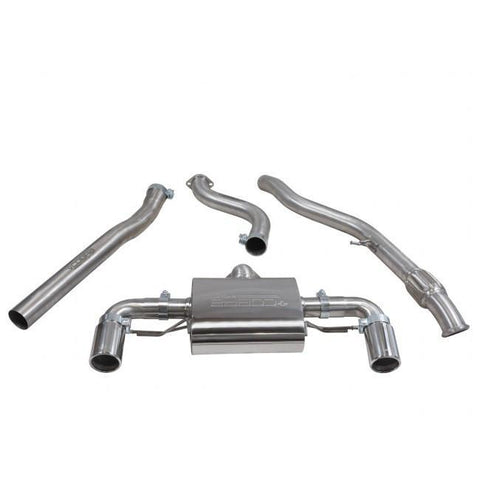 BMW M135i | F20 & F21 | Cobra Cat Back Exhaust ( Non - Resonated ) 2012 onwards