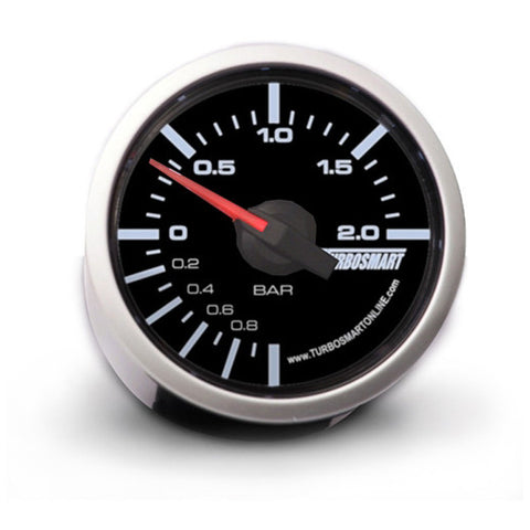 Turbosmart Boost Gauge 0-2 Bar 52mm - AET Motorsport