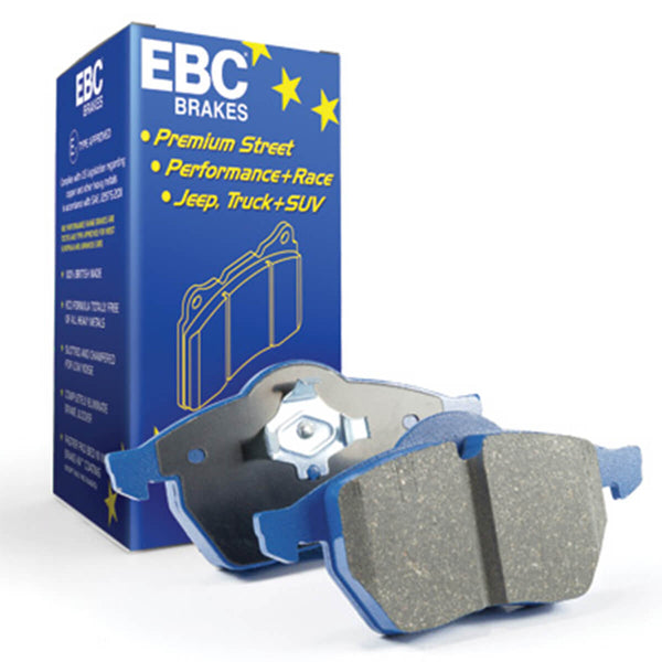 EBC Bluestuff NDX Trackday Front Brake Pads for the Mk3 Ford Focus