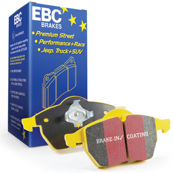 EBC Brakes Yellowstuff 4000 Series Brake Pads for the BMW M2