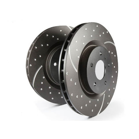EBC Brakes GD Series Slotted And Dimpled Brake Discs For The VW Polo 6C 1.8T