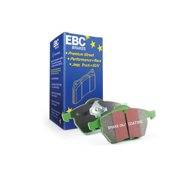EBC Brakes Greenstuff 2000 Series Brake Pads for the VW Polo 6C 1.8T