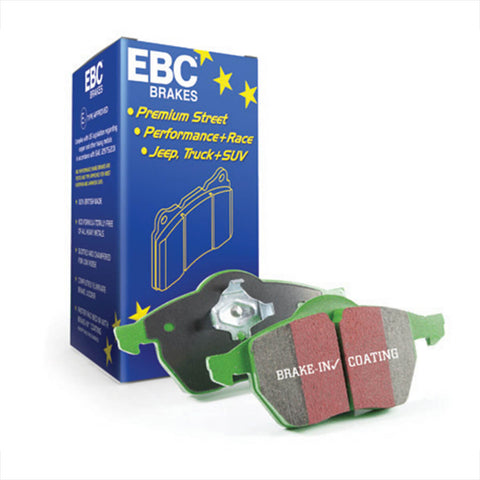 EBC Greenstuff 2000 Series Sport Front Brake Pad for the Ford Focus ST Mk3