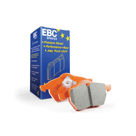 EBC Brakes Orangestuff 9000 Series Race Brake Pads for the VW Polo 6C 1.8T