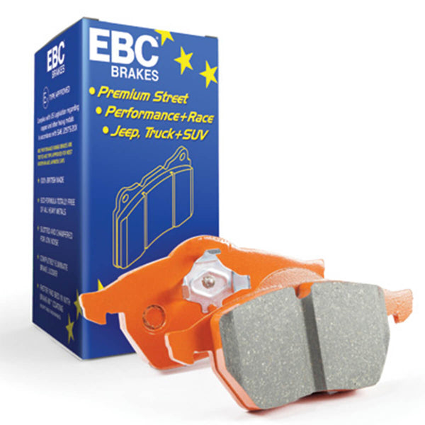 EBC Orangestuff 9000 Series Race Front Brake Pads for the Mk3 Ford Focus