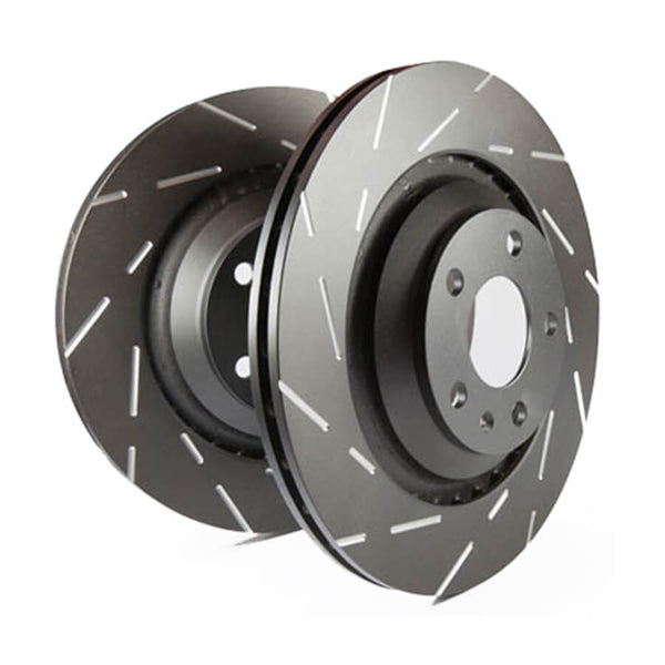 EBC USR Series Fine Slotted Front Brake Discs for the Ford Fiesta ST Mk8