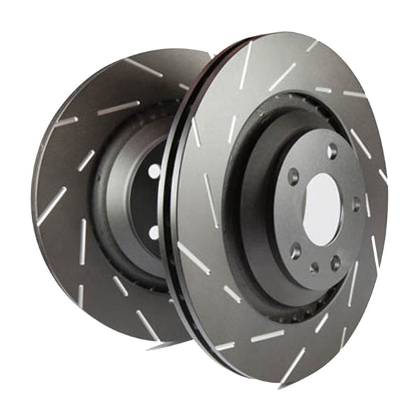 EBC USR Series Fine Slotted Front Brake Discs - Ford Focus RS Mk3
