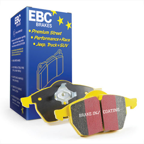 EBC Yellowstuff 4000 Series Front Brake Pads for the Mk3 Ford Focus