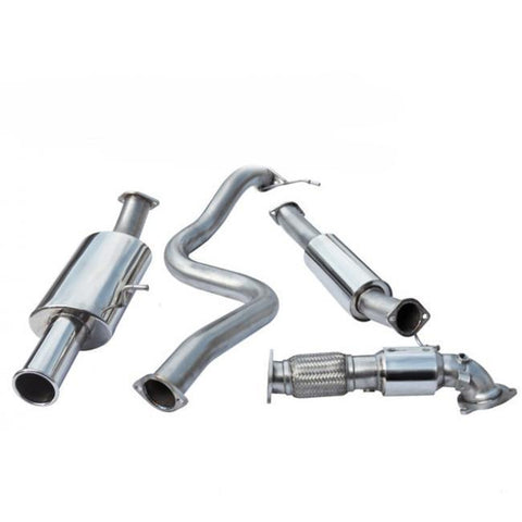 "Cobra Sport | Ford Fiesta ST180 | Turbo Back Exhaust | 3"" Bore (with Sports Catalyst & Resonater) - AET Motorsport - 1"