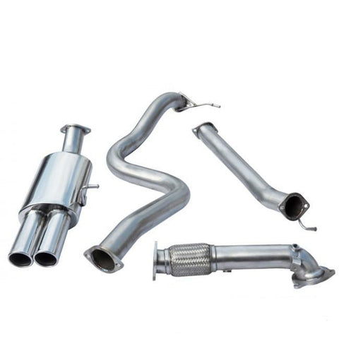 "Cobra Sport | Ford Fiesta ST180 | Turbo Back Exhaust | 3"" Bore (with De-Cat 