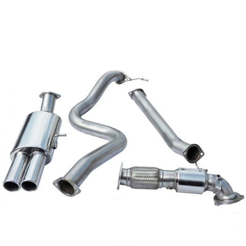 "Cobra Sport | Ford Fiesta ST180 | Turbo Back Exhaust | 3"" Bore (with Sports Catalyst 
