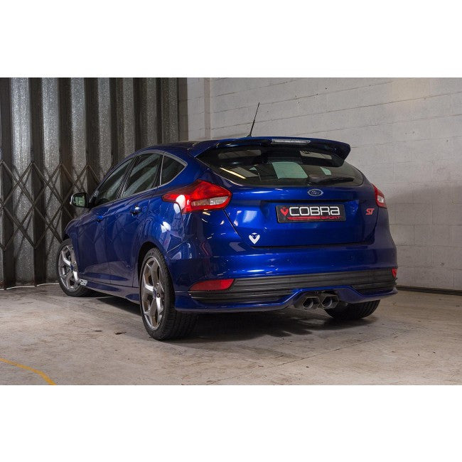 Sporty Ford Focus: Cobra Sport Rear Exhaust Section