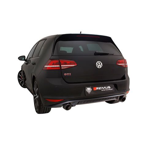 Golf GTI Remus Exhaust Cat Back Exhaust System