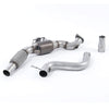 Milltek Sport Large Bore Sports Cat Downpipe - Mustang 2.3 EcoBoost