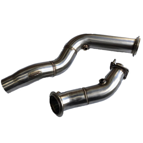 "MTC Motorsport 3"" Stainless Steel Decat Downpipe - BMW M3 / M4"
