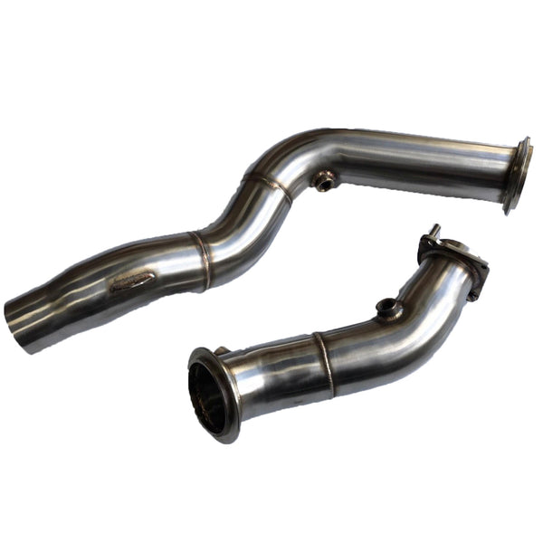 "BMW M3 | M4  | MTC Motorsport | 3"" Stainless Steel Decat Downpipe"
