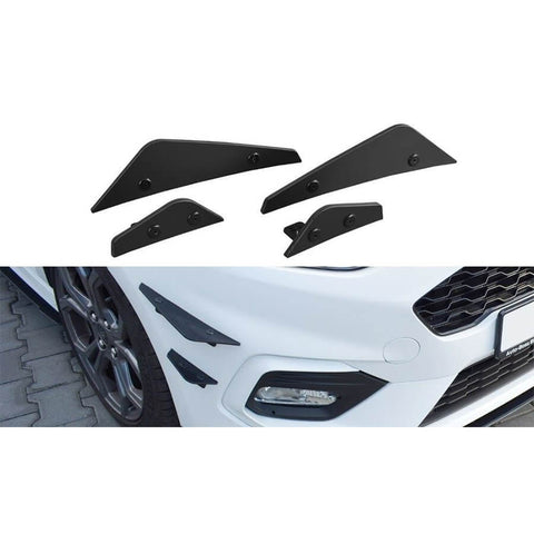 Maxton Design Canards for the Mk8 Ford Fiesta ST & ST-Line