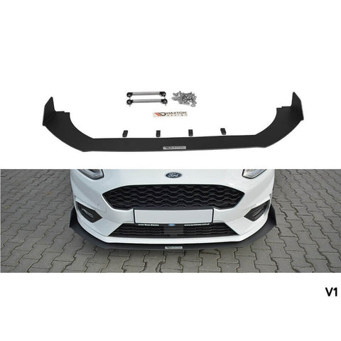 Maxton Design Front Racing Splitter For The Mk8 Ford Fiesta ST & ST-Line V1