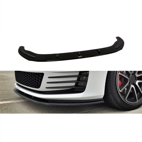 Maxton Design Front Splitter on Golf GTI